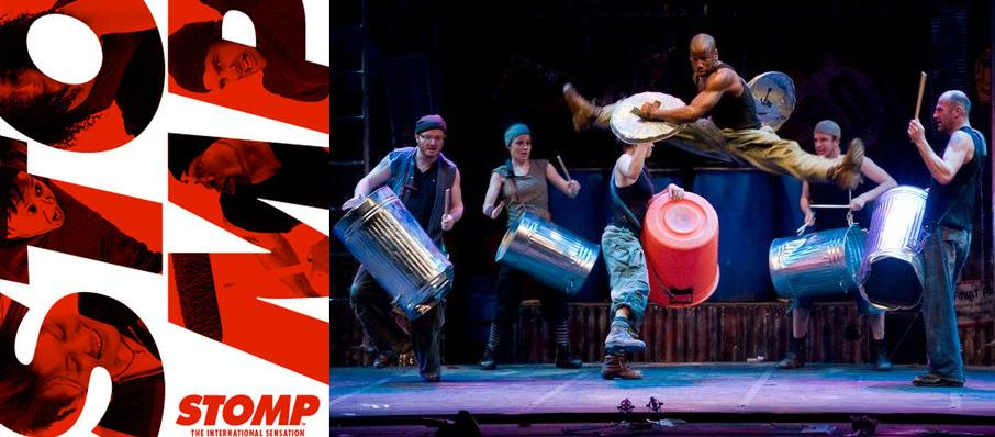 Stomp at Morris Performing Arts Center