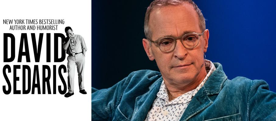 David Sedaris at Morris Performing Arts Center