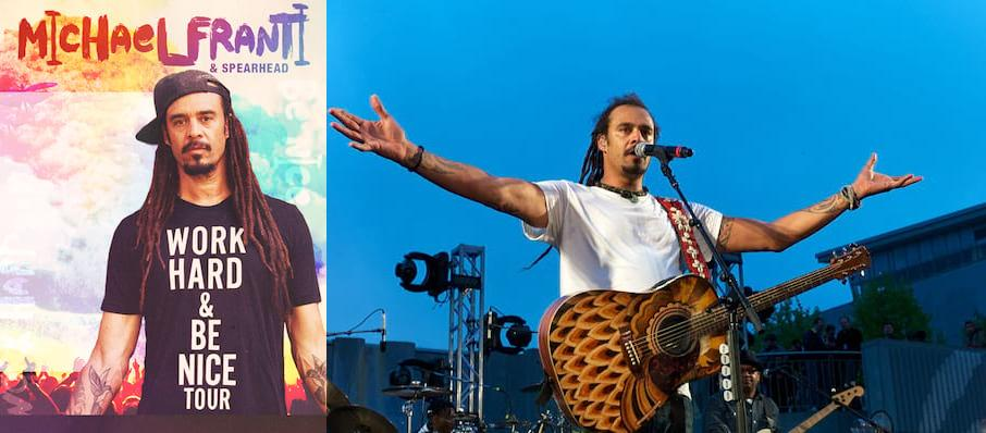 Michael Franti and Spearhead at Morris Performing Arts Center
